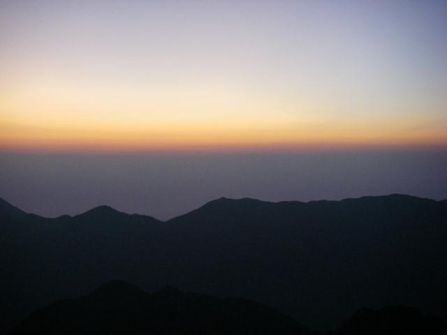 西穂高~奥穂高岳~岳沢H20.9.6~7 119-1