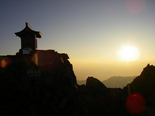 西穂高~奥穂高岳~岳沢H20.9.6~7 133-1
