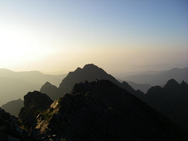 西穂高~奥穂高岳~岳沢H20.9.6~7 162