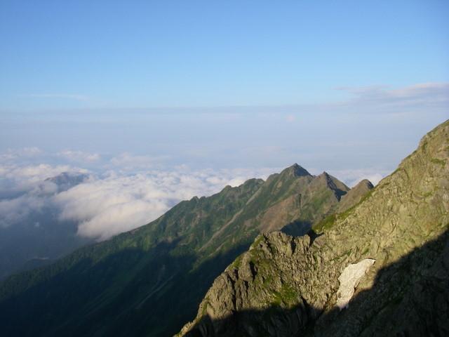西穂高~奥穂高岳~岳沢H20.9.6~7 168