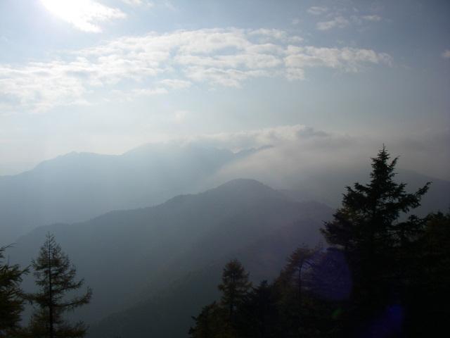 奥多摩ー酉谷山~長沢背稜~雲取山荘~鴨沢H20.10 (167)