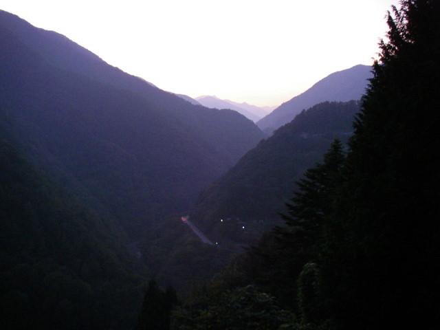 奥多摩ー酉谷山~長沢背稜~雲取山荘~鴨沢H20.10 (191)