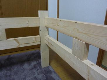 ベッド製作2011121705