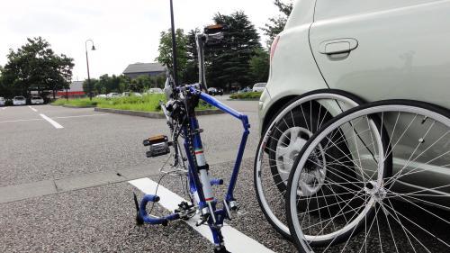 081201自転車組み立て