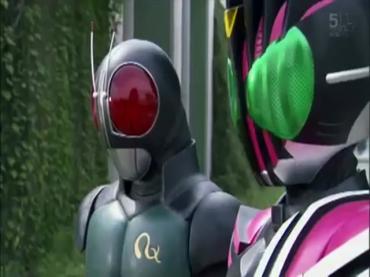 仮面ライダーディケイド 第26話「RX!大ショッカー来襲」3.avi_000114881