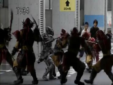 Samurai Sentai Shinkenger Episode 26  Part 1.avi_000197922