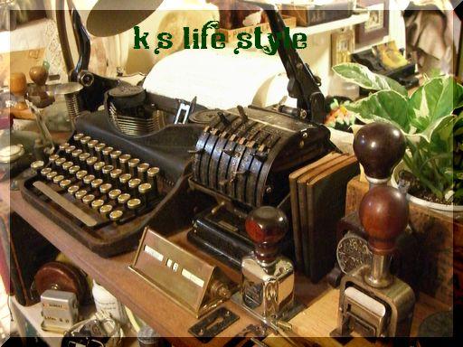 タイプライター&チェックプリンター
