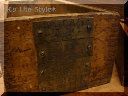 インダストリアル木箱