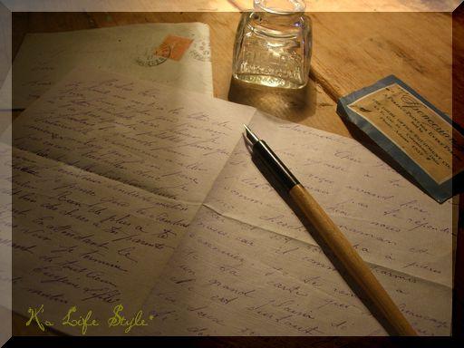 アンティーク 手紙