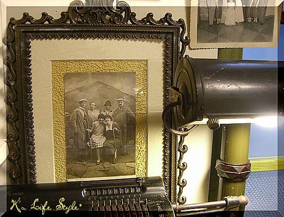 フランス古い写真&フォトフレーム
