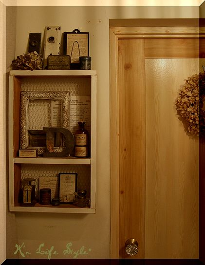 玄関からキッチンへ・・・