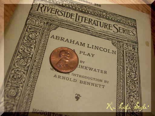 リンカーン劇脚本1918年印刷物.