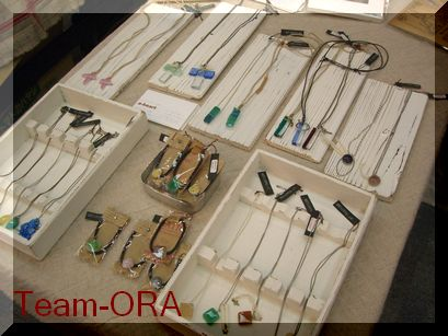 Team-ORA ガラスアクセ.