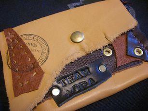 Team-ORAさん 革のカードケース