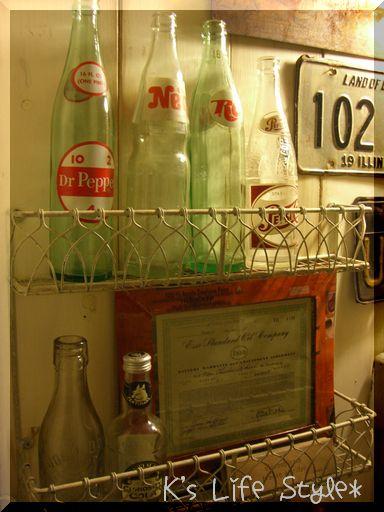 ヴィンテージ ジュースボトル
