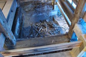 汲み取り亀埋めた跡