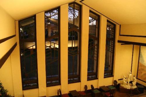 自由学園明日館ホール窓