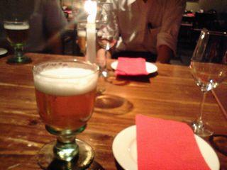 美味しいビールで乾杯!