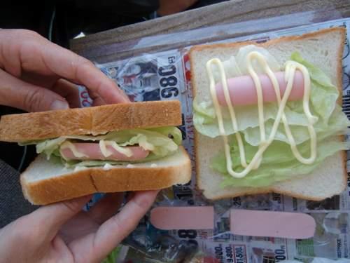 サンド作り