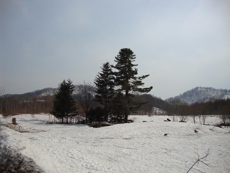 塩狩第二にあった廃屋の跡