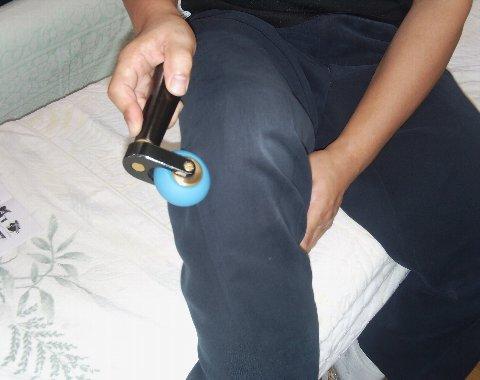 ビューティーで自分の膝を治療