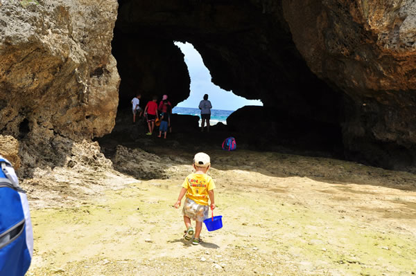 ミニ洞窟06