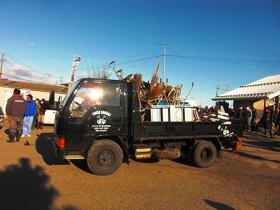 スコップ団のトラック