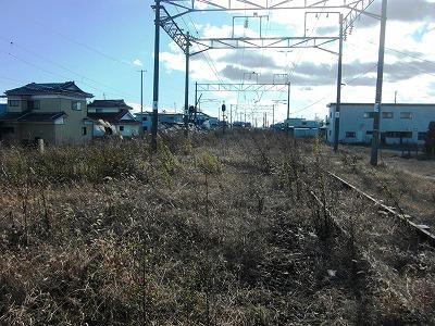 山下駅線路