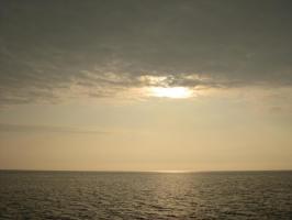 もうすぐ日没