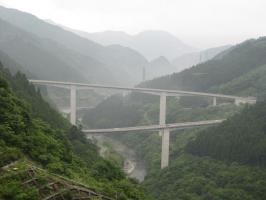 ループ橋遠景