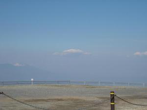 雲が目線と同じ高さ