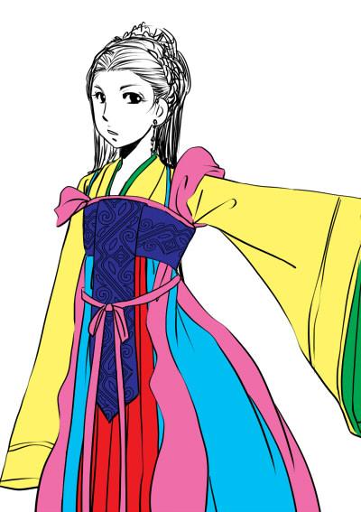 女性陣衣装考察8