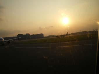 壮大なソラよ2眩しい夕日