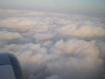 壮大なソラよ1雲もこもこ