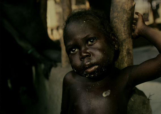 スーダンの孤児