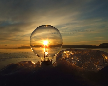 ランプ写真
