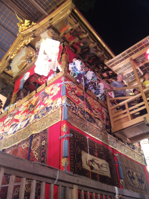 長刀鉾2011(横から)