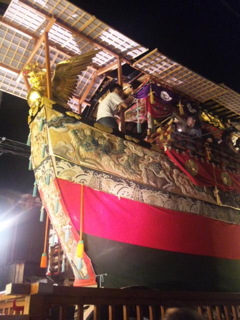 船鉾(横から)