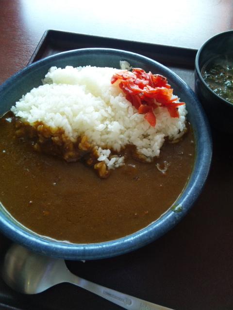 日本平のカレー