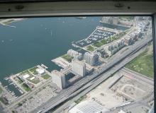 CN TOWERから1