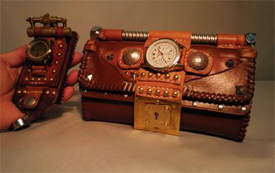 スチームパンク 財布