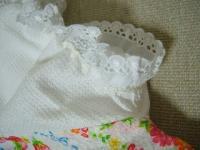 7月 ユリアのパジャマ 袖レース
