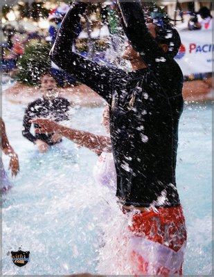 11水中バスケ