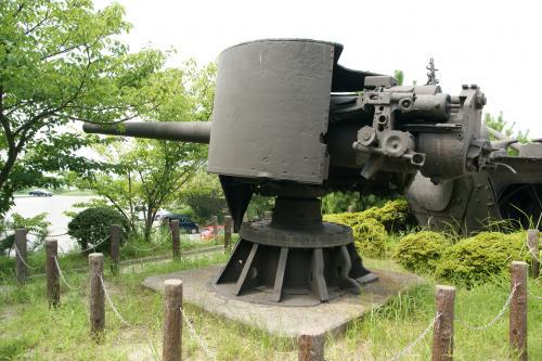 戦艦:陸奥砲門