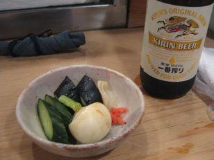 銀座武ちゃん+ おしんことビール