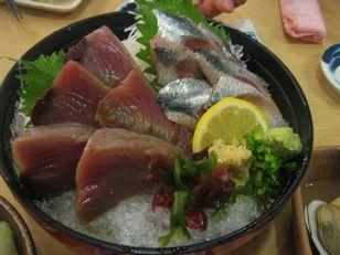 魚屋一丁 銀座本店+かつお、いわし