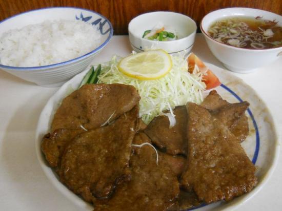 万福レバステーキ (1)