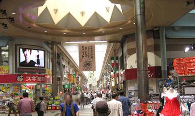 大須商店街、全景