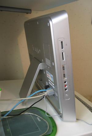 2009.07.03、バイオパソコン側面