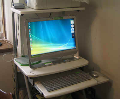 2009.07.03、バイオパソコン正面